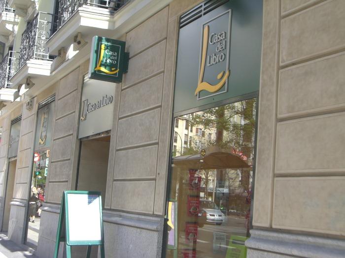 스페인의 가장 큰 서점 (Casa del libro '책의 집')
