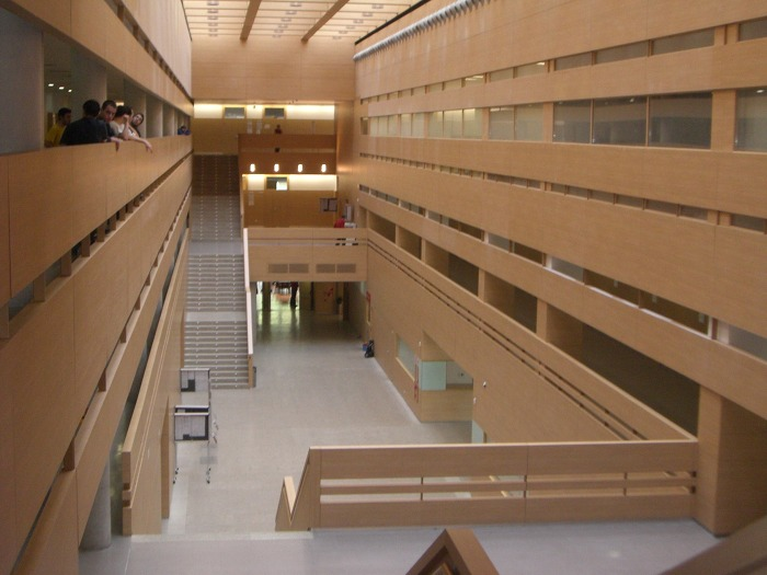 마드리드 국립대학교 건물 내부