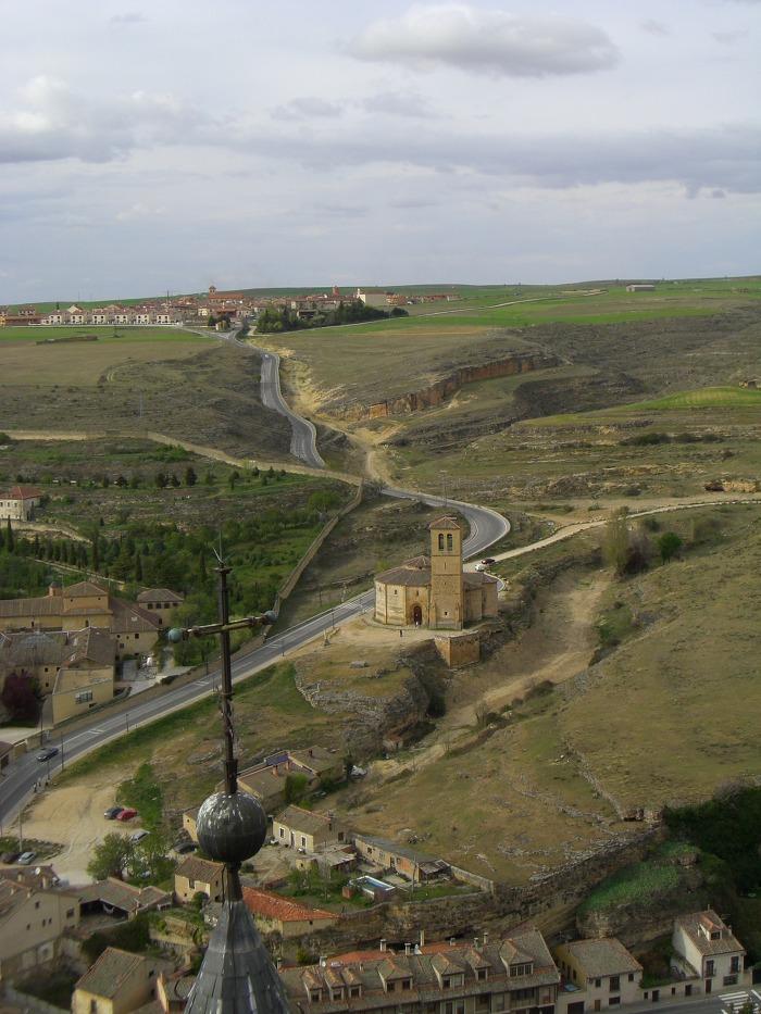 알카사르에서 바라본 대평원