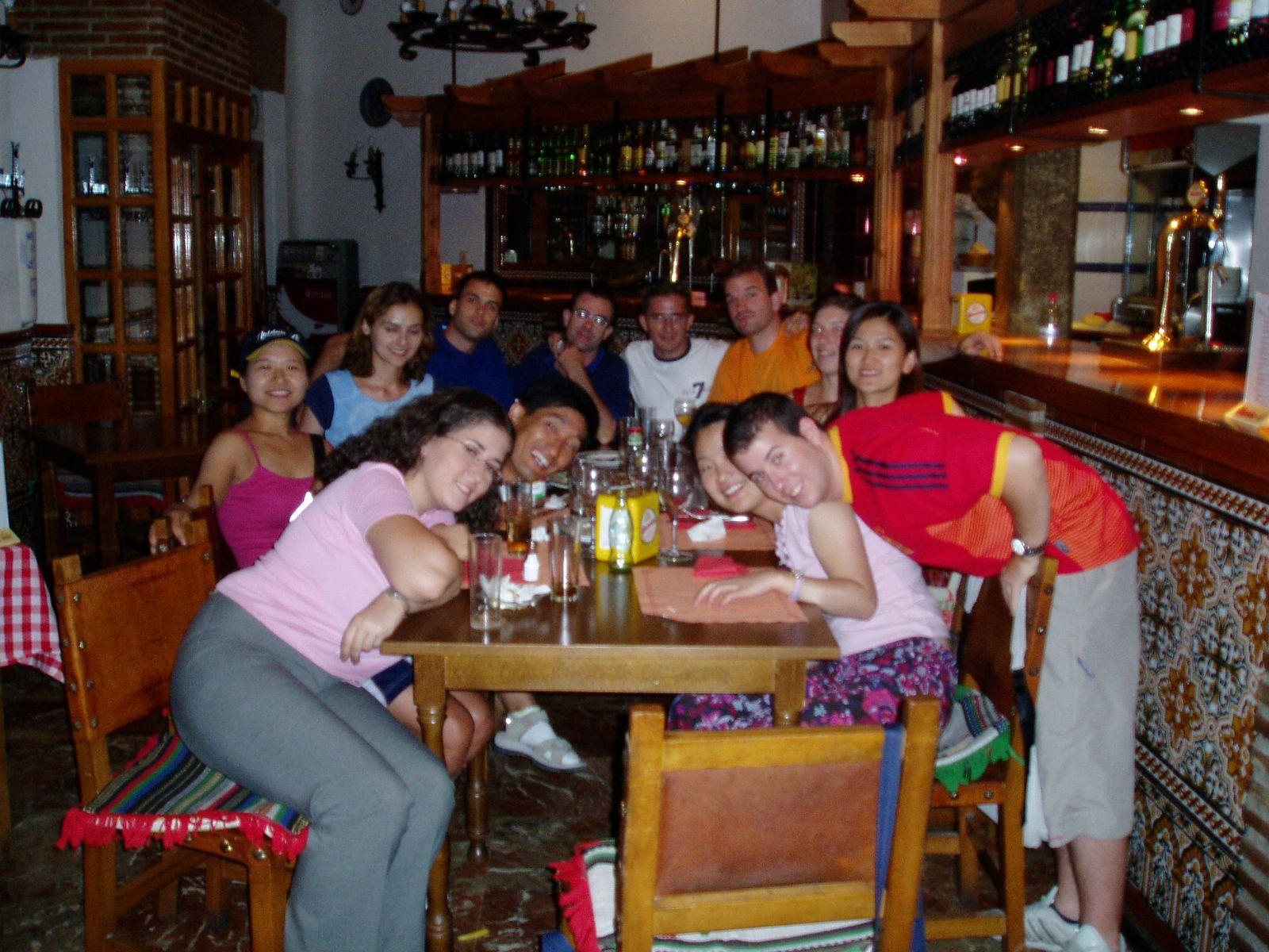 왁자지껄 스페인 친구들 모임